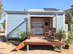 Tiny Homes Launch with Apricus Solar Collectors