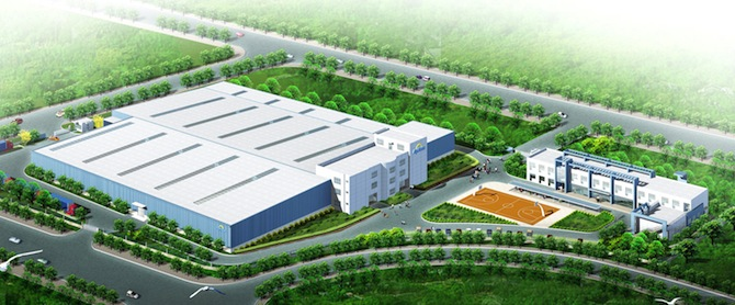 Apricus announces manufacturing plant expansion