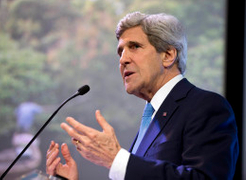 John Kerry: Climate Change Is 'Perhaps The World's Most Fearsome Weapon Of Mass Destruction'